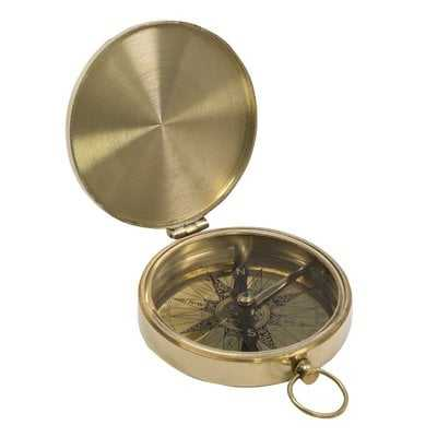 Santos Decorative Pocket Compass - Wayfair