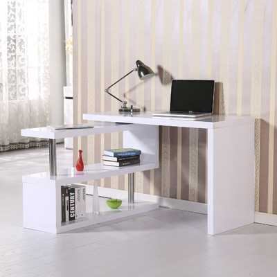 Rotating L-Shape Desk - AllModern
