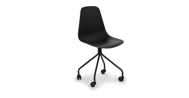 Svelti Pure Black Office Chair - Article