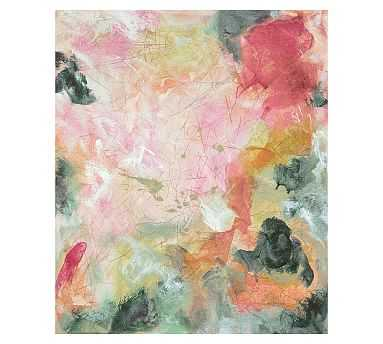 "Fall Remembers Spring Canvas, 42 x 50"" - Pottery Barn"