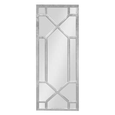 Vanderford Decorative Wall Mirror Other Silver - Home Depot