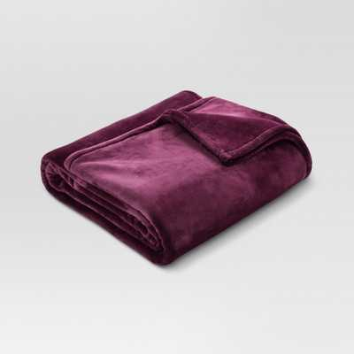 Microplush Bed Blanket (Full/Queen) Embassy Purple - Threshold - Target