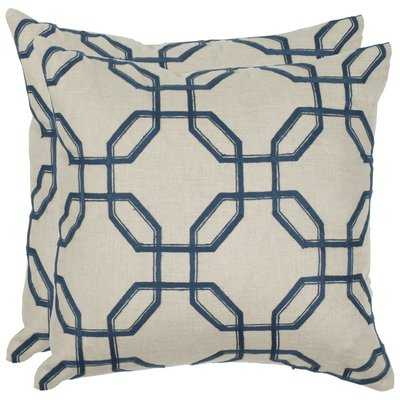 Jacob Linen Throw Pillow - Wayfair