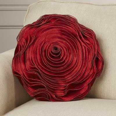 Floral Throw Pillow - Wayfair