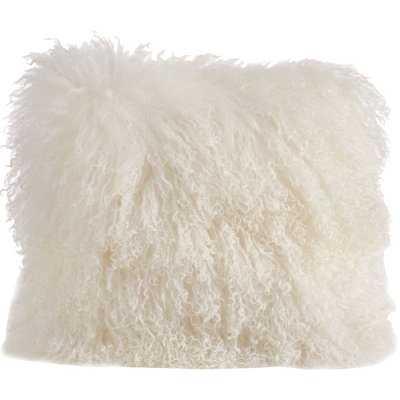 Revilla Mongolian Throw Pillow - Birch Lane