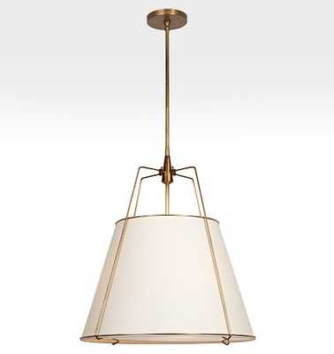 "Conical 24"" Drum Pendant - Rejuvenation"