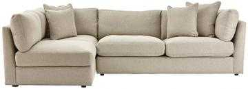 Griffith Sugar Shack Putty Sectional - Home Depot