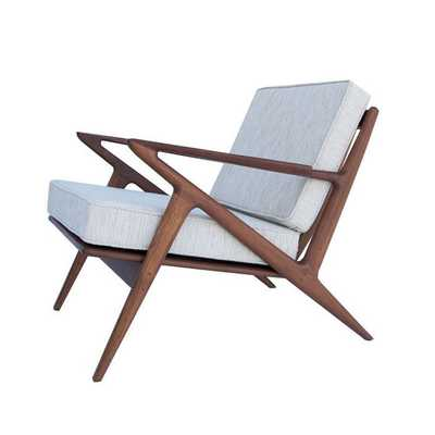 Palm Springs Lounge Chair in Ivory - Dot & Bo