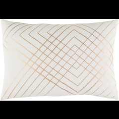 "Crescent CSC-003 Pillow - 13"" x 19"" with Polyester Filler - Neva Home"