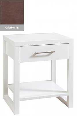 WATSON 1-DRAWER NIGHTSTAND - GRAPHITE - Home Decorators