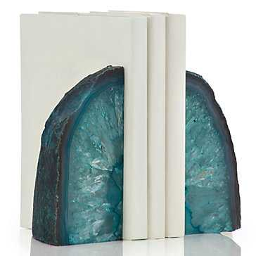 Agate Bookends - Set of 2 - Z Gallerie