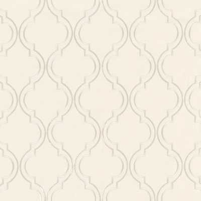 "Rosselli Embroidered Drapery Panel -Champagne - 108"" - Ballard Designs"
