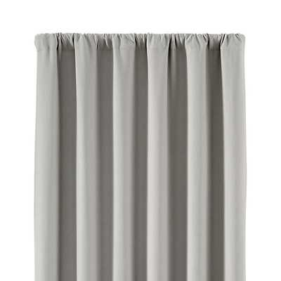 """Wallace Blackout Curtain Panel - 96"""" - Crate and Barrel"""