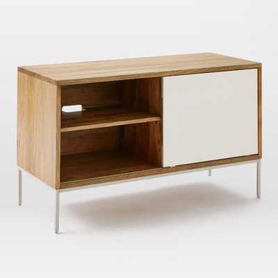 Silas Wood + Metal Media Console - West Elm