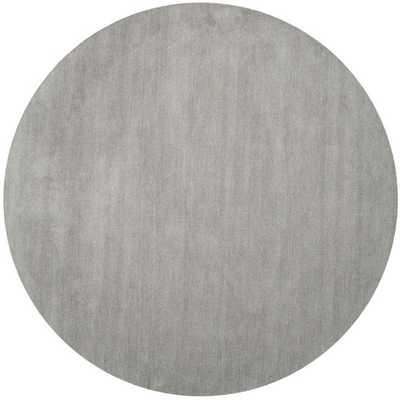 Himalaya Grey Area Rug - Round 6' - AllModern