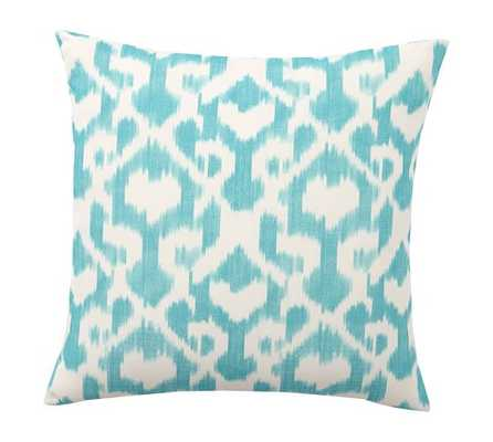 ANDREA PRINTED INDOOR/OUTDOOR PILLOW-COZUMEL-20.sq.-Insert - Pottery Barn