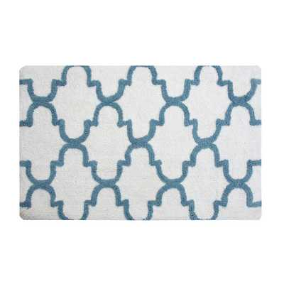 Geometric Bath Rug - Wayfair