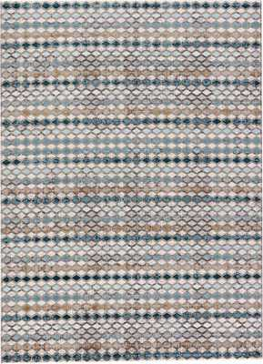 """Block Out Rug - 7'6"""" x 9'6"""" - Collective Weavers"""