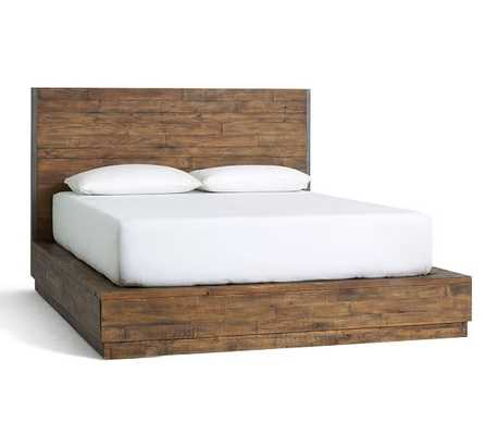 BIG DADDY'S ANTIQUES RECLAIMED WOOD BED - KING - Pottery Barn