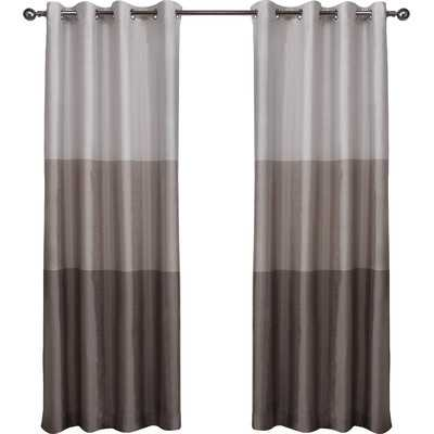 """Exclusive Home Curtain Panel Taupe - 54""""W x 84""""L - Wayfair"""