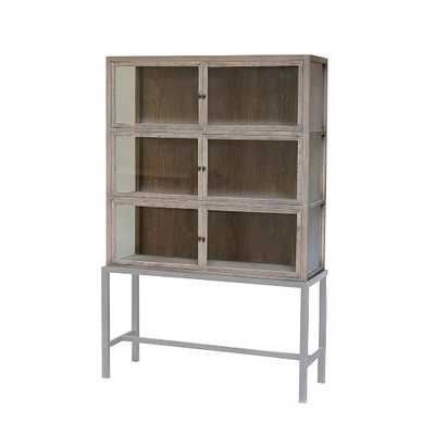 Curio Display Cabinet - Natural - West Elm