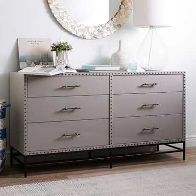 Nailhead 6-Drawer Dresser - West Elm