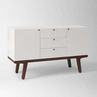 Modern Media Console - White - West Elm