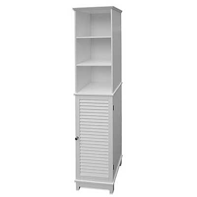 Summit Tall Cabinet Tower in White - Bed Bath & Beyond