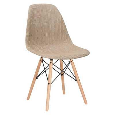 Vortex Side Chair- Beige - AllModern