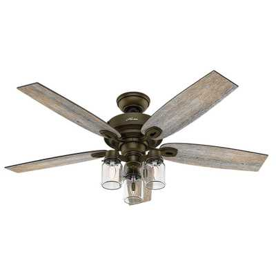 Crown Canyon 52 in. Indoor Regal Bronze Ceiling Fan - Home Depot