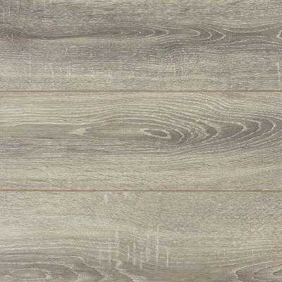 Laminate Flooring (17.32 sq. ft. / case)-Silverbrook Aged Oak - Home Depot