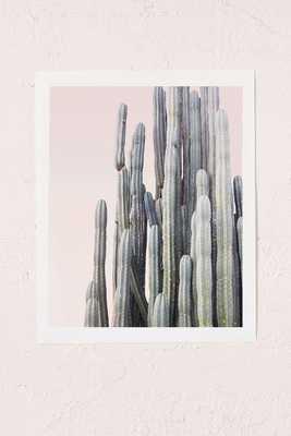 """Wilder California Summer Cactus Art Print - 18"""" x 24"""" - Unframed - Urban Outfitters"""