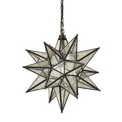 Moravian Star Pendant - Mercury Glass - Ballard Designs