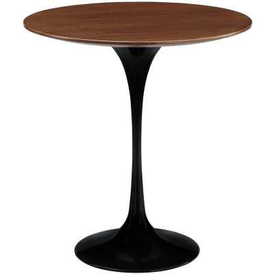"""LIPPA 20"""" WOOD SIDE TABLE IN BLACK - Modway Furniture"""