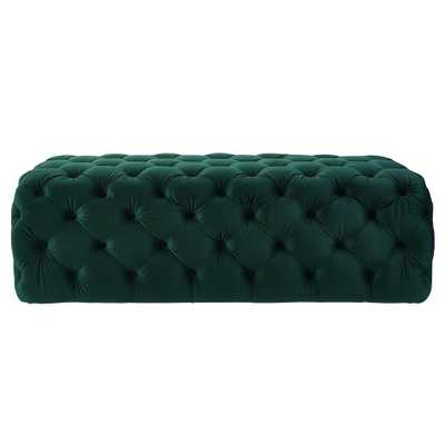 Jolie Bench, Green - Studio Marcette