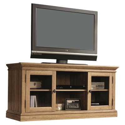 """Greig 60"""" TV Stand - Scribbed Oak - 25.79"""" H x 53.25"""" W x 19.45"""" D - Wayfair"""