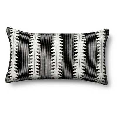 Ebony Global Oversized Lumbar Throw Pillow - With Insert - Target