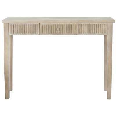Pomona Park Contemporary Console Table - Grey - Wayfair