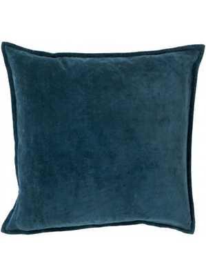 "Maxen Pillow - Dark Teal - 18"" x 18"" - Polyester Filled - Lulu and Georgia"