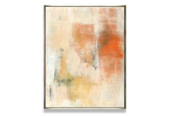 "Ilana Greenberg, Tomorrow's Promises - 40""L x 32""W - Satin Silver Frame - One Kings Lane"