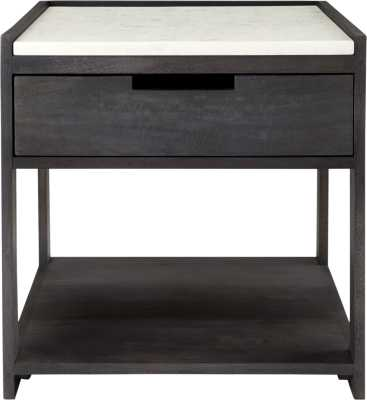 Tux Marble Top Nightstand - CB2