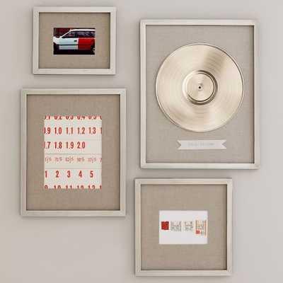 Gallery Frames - Set of 4, Assorted Sizes - West Elm