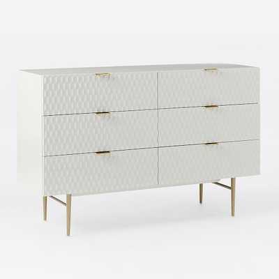 Audrey 6-Drawer Dresser - West Elm