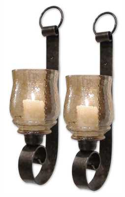 Joselyn, Small Wall Sconces, S/2 - Hudsonhill Foundry