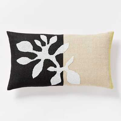 """Beaded Branch Pillow Cover - 12"""" x 21"""" - West Elm"""