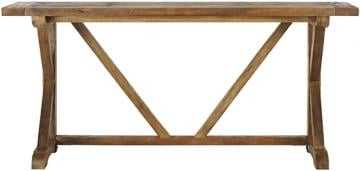Cane Console Table - Home Depot