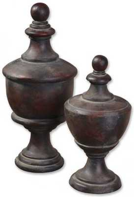 Catania Finials - Set of 2 - Home Decorators