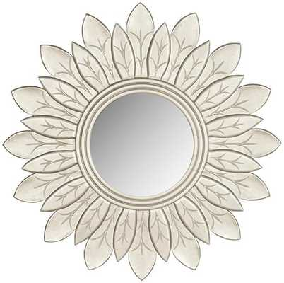 LEAFLET WALL MIRROR - SILVER - Home Decorators