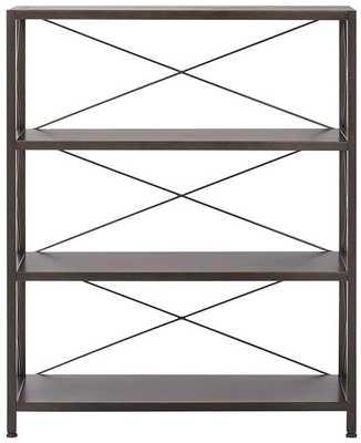 RYAN METAL 3 SHELF BOOKCASE - Home Decorators