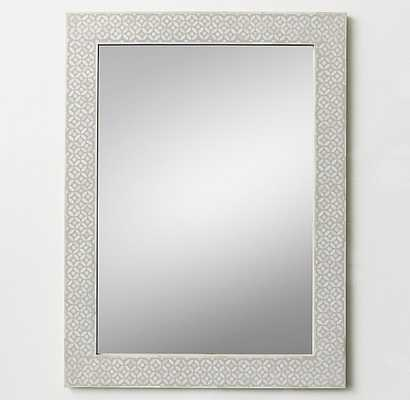 Mosaic Bone Inlay Dresser Mirror - RH Teen
